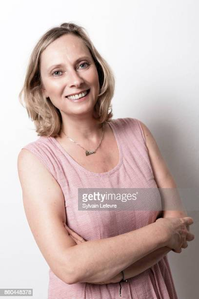 Actress Cecile Telerman is photographed for Self Assignment on August 23 2017 in Angouleme France