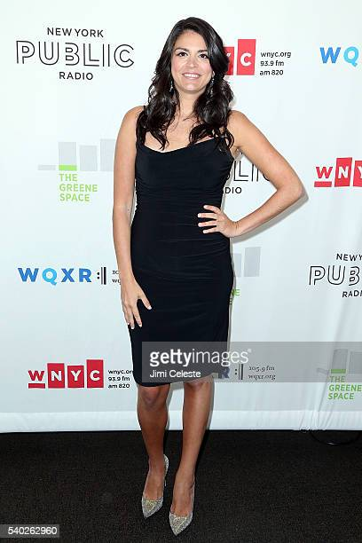 Actress Cecily Strong attending WNYC's Radio Revelry at Tribeca Three Sixty on June 14 2016 in New York City