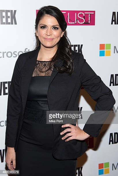 Actress Cecily Strong attends the 2013 Adweek Hot List Gala at Capitale on December 2 2013 in New York City