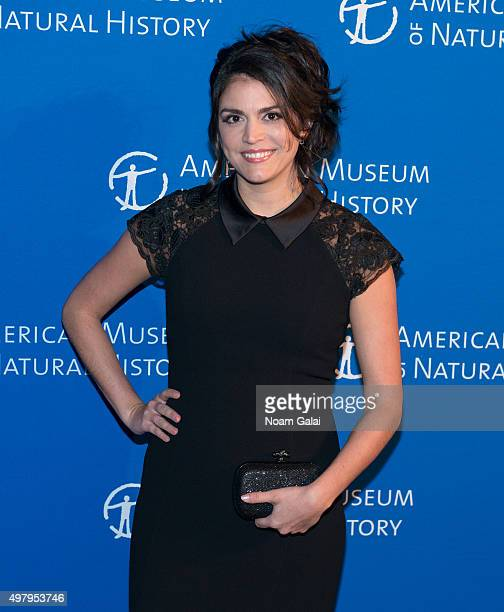 Actress Cecily Strong attends the 2015 American Museum of Natural History Museum Gala at American Museum of Natural History on November 19 2015 in...