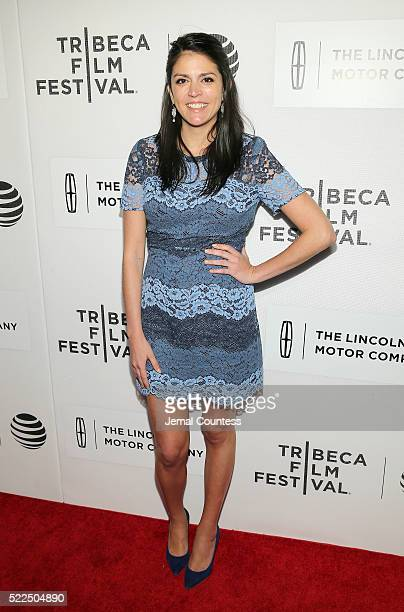 Actress Cecily Strong attends 'The Meddler' Premiere at John Zuccotti Theater at BMCC Tribeca Performing Arts Center on April 19 2016 in New York City