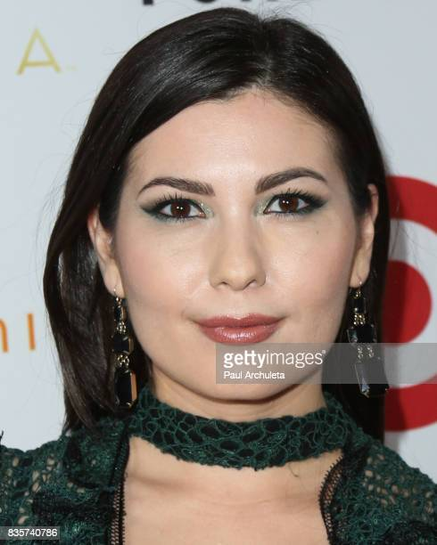 Actress Celeste Thorson attends the NYX Professional Makeup's 6th Annual FACE Awards at The Shrine Auditorium on August 19 2017 in Los Angeles...