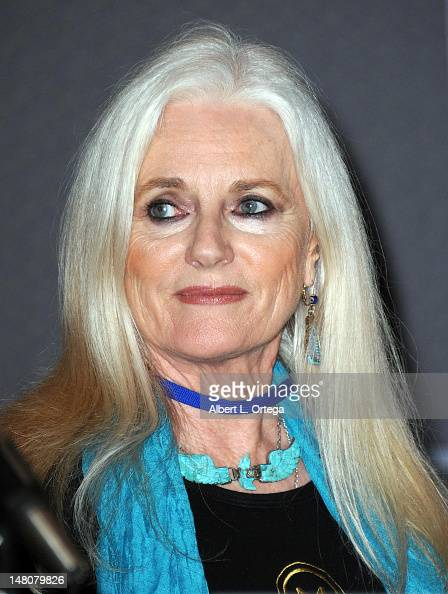 Actress Celeste Yarnall attends the...