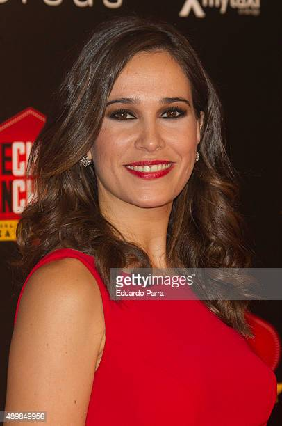 Actress Celia Freijeiro attends 'De chica en chica' premiere at Palafox cinema on September 24 2015 in Madrid Spain