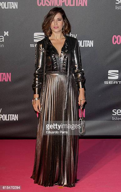 Actress Celia Freijeiro attends the 'Cosmopolitan Fun Fearless Female' awards 2016 at La Riviera Disco on October 18 2016 in Madrid Spain
