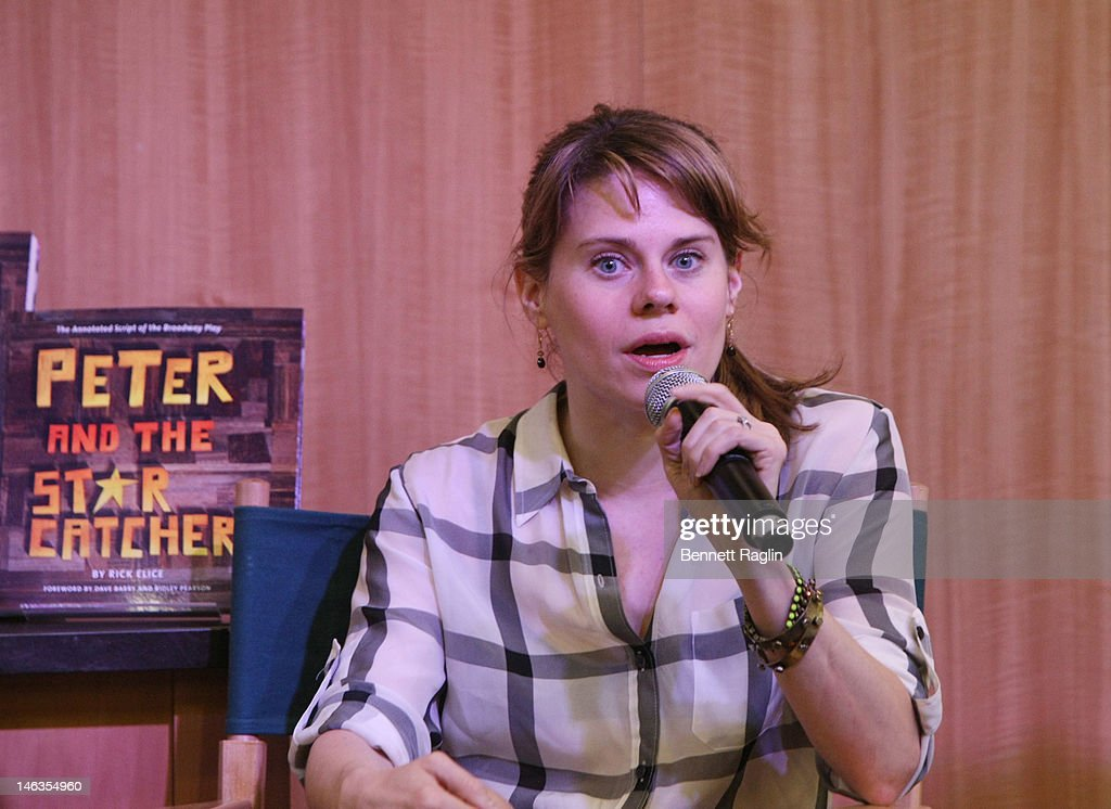 Actress Celia Keenan-Bolger 'Peter And The Starcatcher' Q & A And Autograph Signing at Barnes & Noble, 86th & Lexington on June 14, 2012 in New York City.
