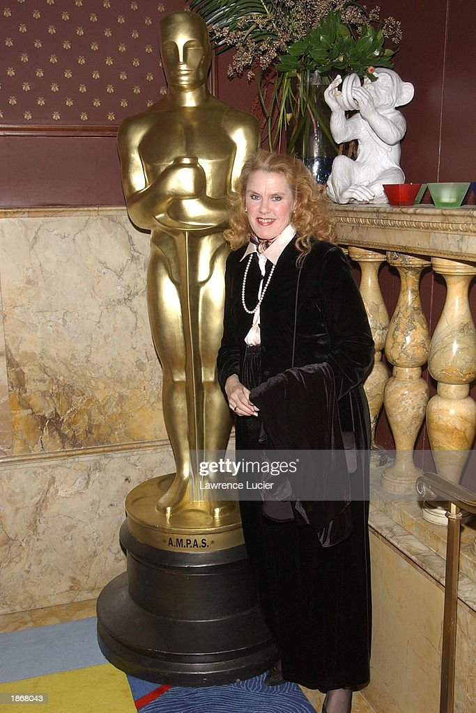 Actress Celia Weston arrives at the official Academy of Motion Picture Arts & Sciences Oscar Night Viewing Party at Le Cirque 2000 restaurant March 23, 2003 in New York City.