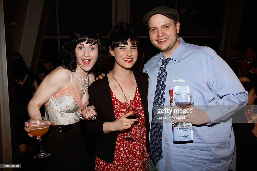Actress Celina Carvajal, actor Daniel Everidge and actress Molly Hager attend the 28th Annual Lucille Lortel Awards on May 5, 2013 in New York City.