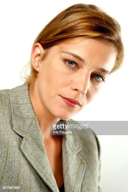 Actress Celine Salette Photographed in PARIS