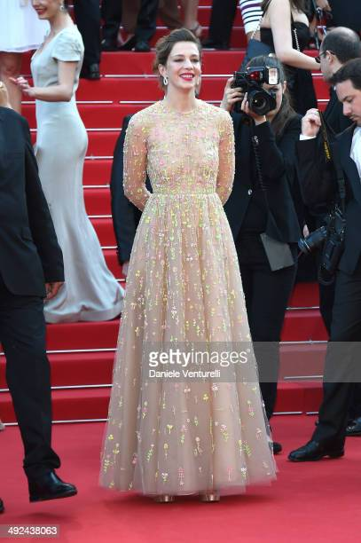 Actress Celine Sallette attends the 'Geronimo' Premiere during the 67th Annual Cannes Film Festival on May 20 2014 in Cannes France