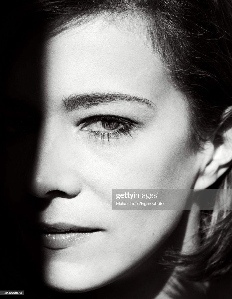 Celine Sallette, Madame Figaro, August 22, 2014