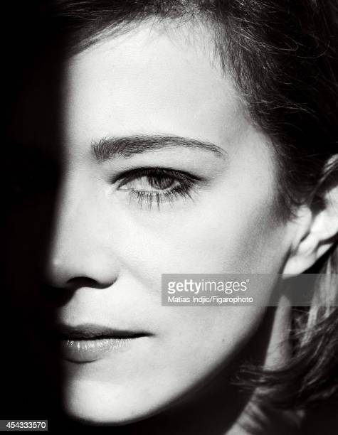 110095019 Actress Celine Sallette is photographed for Madame Figaro on July 10 2014 in Paris France PUBLISHED IMAGE CREDIT MUST READ Matias...