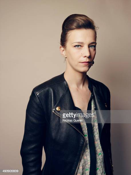 Actress Celine Sallette is photographed for Self Assignment on May 19 2014 in Cannes France