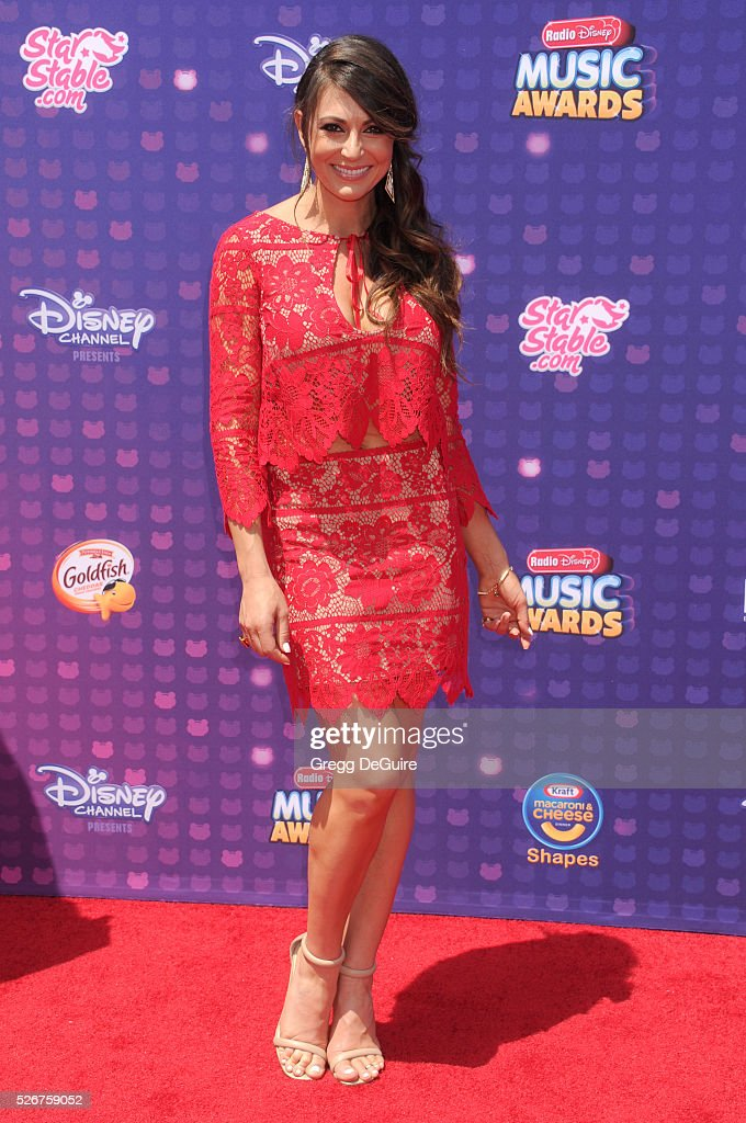 Actress Cerina Vincent arrives at the 2016 Radio Disney Music Awards at Microsoft Theater on April 30, 2016 in Los Angeles, California.