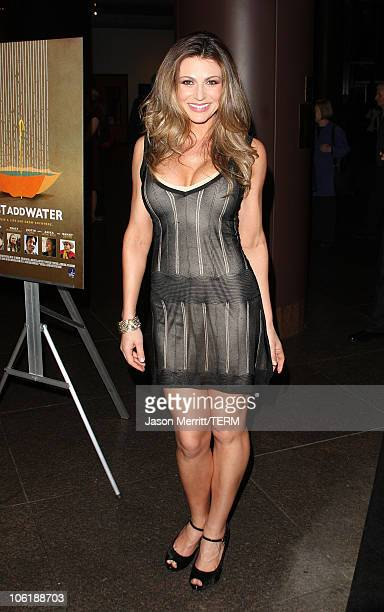Actress Cerina Vincent arrives at the 'Just Add Water' premiere on March 18 2008 in West Hollywood California