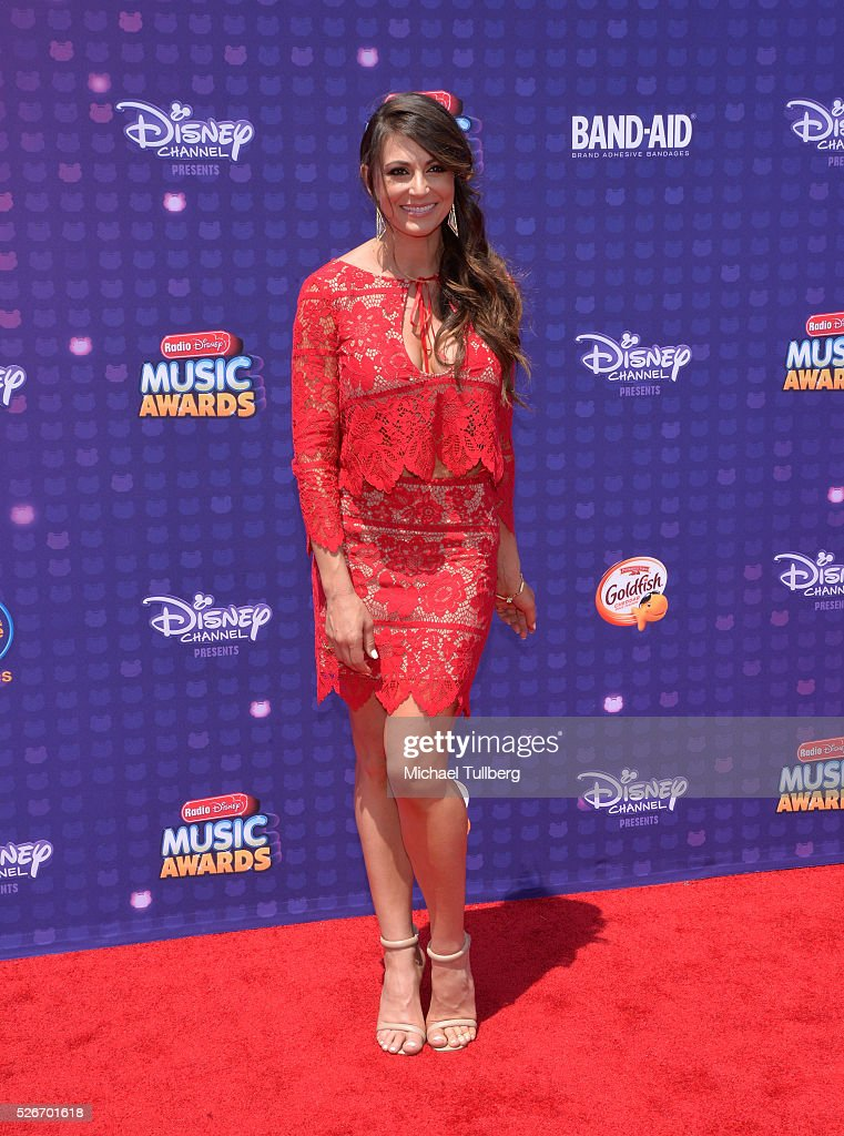 Actress Cerina Vincent attends the 2016 Radio Disney Music Awards at Microsoft Theater on April 30, 2016 in Los Angeles, California.