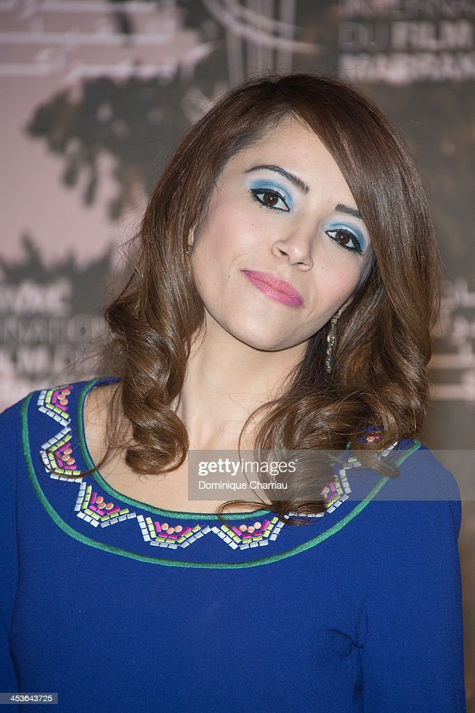 Actress Chaimae Ben Acha attends the 'Traitors' Photocall during the 13th Marrakech International Film Festival on December 4, 2013 in Marrakech, Morocco.