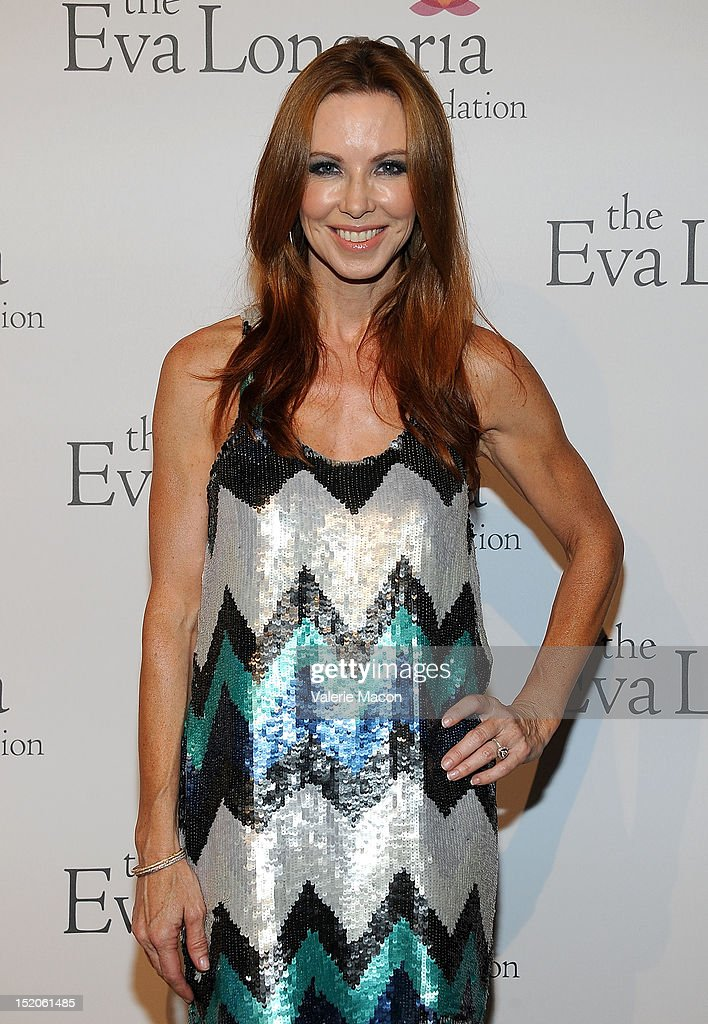 Actress Challen Cates arrives at The Eva Longoria Foundation's Pre-ALMA Awards Dinner Presented By Target on September 15, 2012 in Los Angeles, California.