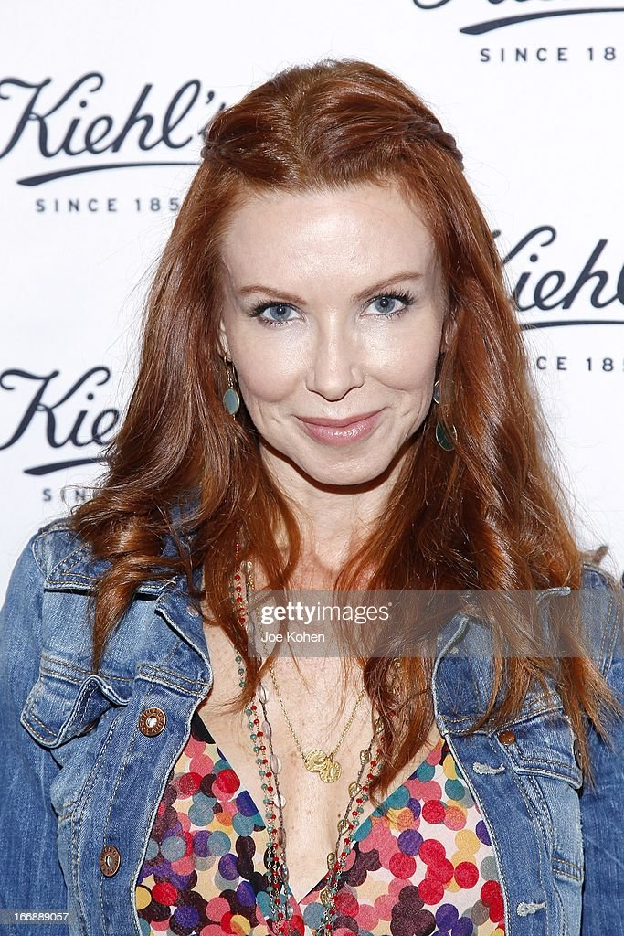 Actress Challen Cates attends Kiehl's launches environmental partnership benefiting recycle across America at Kiehl's Since 1851 Santa Monica Store on April 17, 2013 in Santa Monica, California.