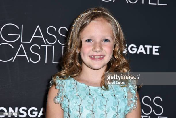 Actress Chandler Head attends 'The Glass Castle' New York Screening at SVA Theatre on August 9 2017 in New York City