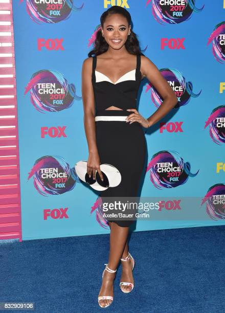 Actress Chandler Kinney arrives at the Teen Choice Awards 2017 at Galen Center on August 13 2017 in Los Angeles California