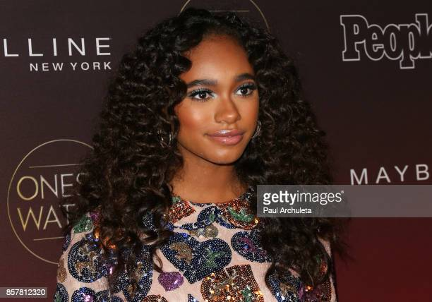 Actress Chandler Kinney attends People's 'Ones To Watch' party at NeueHouse Hollywood on October 4 2017 in Los Angeles California