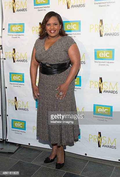 Actress Chandra Wilson arrives at the 18th Annual PRISM Awards at Skirball Cultural Center on April 22 2014 in Los Angeles California