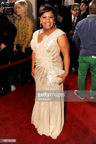 Actress Chandra Wilson arrives at the 43rd NAACP Image Awards after party held at The Shrine Auditorium on February 17 2012 in Los Angeles California