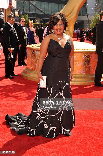 Actress Chandra Wilson arrives at the 61st Primetime Emmy Awards held at the Nokia Theatre on September 20 2009 in Los Angeles California