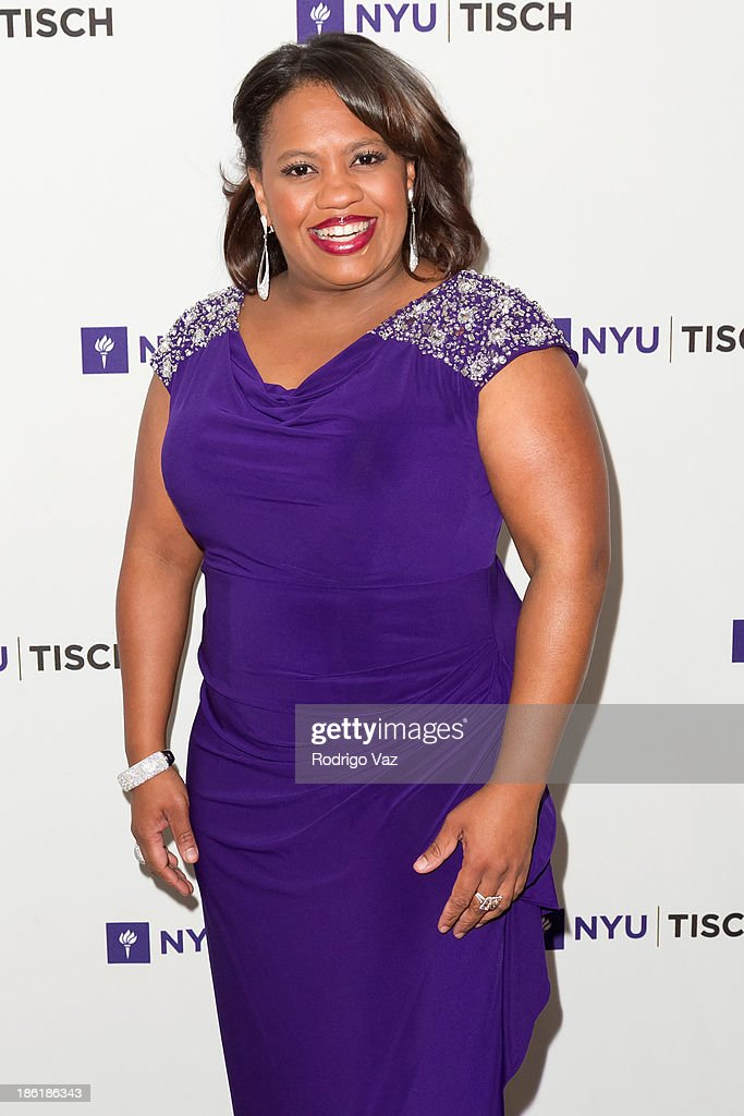 Actress <a gi-track='captionPersonalityLinkClicked' href=/galleries/search?phrase=Chandra+Wilson&family=editorial&specificpeople=457286 ng-click='$event.stopPropagation()'>Chandra Wilson</a> attends NYU's Tisch School Of the Arts LA Gala at Regent Beverly Wilshire Hotel on October 28, 2013 in Beverly Hills, California.