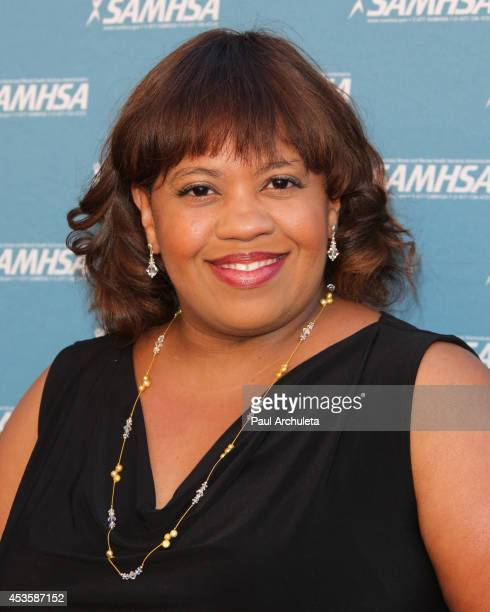 Actress Chandra Wilson attends SAMHSA's 2014 Voice Awards at Royce Hall at UCLA on August 13 2014 in Westwood California