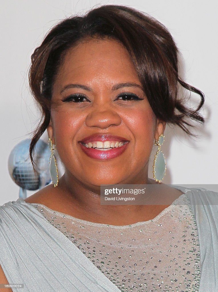 Actress Chandra Wilson attends the 44th NAACP Image Awards at the Shrine Auditorium on February 1, 2013 in Los Angeles, California.