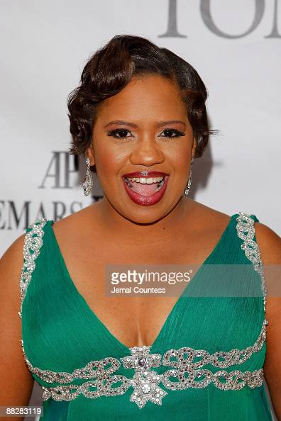 Actress Chandra Wilson attends the 63rd Annual Tony Awards at Radio City Music Hall on June 7 2009 in New York City
