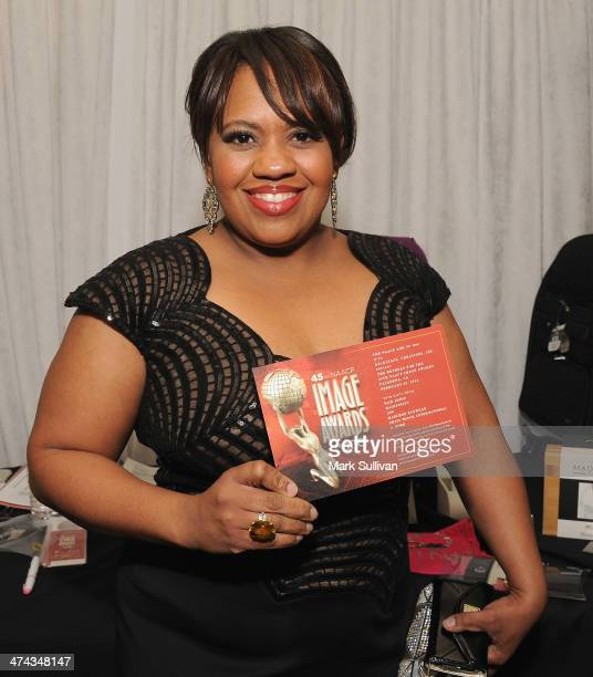 Actress Chandra Wilson in Backstage Creations Retreat At The 45th NAACP Image Awards on February 22 2014 in Pasadena California