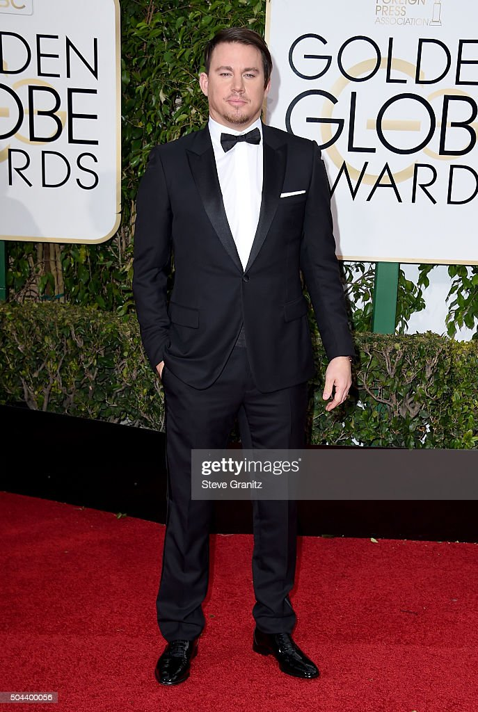Actress <a gi-track='captionPersonalityLinkClicked' href=/galleries/search?phrase=Channing+Tatum&family=editorial&specificpeople=549548 ng-click='$event.stopPropagation()'>Channing Tatum</a> attends the 73rd Annual Golden Globe Awards held at the Beverly Hilton Hotel on January 10, 2016 in Beverly Hills, California.