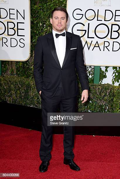 Actress Channing Tatum attends the 73rd Annual Golden Globe Awards held at the Beverly Hilton Hotel on January 10 2016 in Beverly Hills California