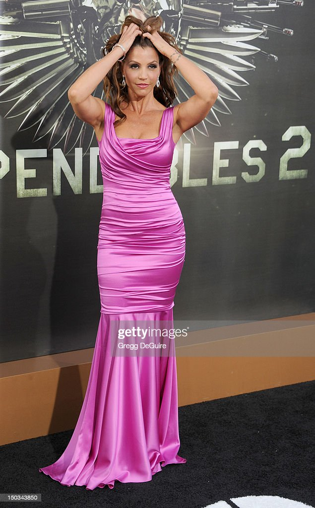 Actress Charisma Carpenter arrives at Los Angeles premiere of 'The Expendables 2' at Grauman's Chinese Theatre on August 15, 2012 in Hollywood, California.