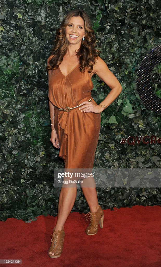 Actress Charisma Carpenter arrives at the QVC 'Red Carpet Style' party at Four Seasons Hotel Los Angeles at Beverly Hills on February 22, 2013 in Beverly Hills, California.