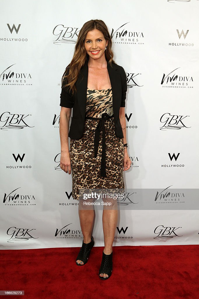 Actress Charisma Carpenter at GBK Gift Lounge In Honor Of The MTV Movie Award Nominees And Presenters - Day 2 at W Hollywood on April 13, 2013 in Hollywood, California.