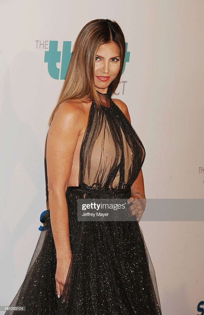 Actress <a gi-track='captionPersonalityLinkClicked' href=/galleries/search?phrase=Charisma+Carpenter&family=editorial&specificpeople=227217 ng-click='$event.stopPropagation()'>Charisma Carpenter</a> attends the 5th Annual Thirst Gala hosted by Jennifer Garner in partnership with Skyo and Relativity's 'Earth To Echo' on June 24, 2014 at the Beverly Hilton Hotel in Beverly Hills, California.