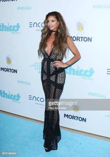 Actress Charisma Carpenter attends the 8th annual Thirst Gala at The Beverly Hilton Hotel on April 18 2017 in Beverly Hills California