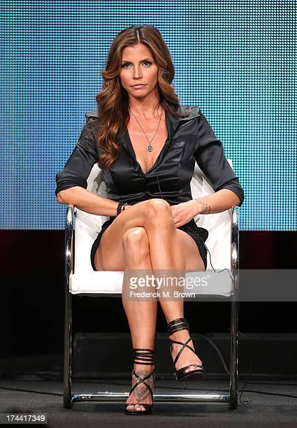 Actress Charisma Carpenter speaks onstage at the ' Surviving Evil With Charisma Carpenter' panel discussion during the Investigation Discovery...