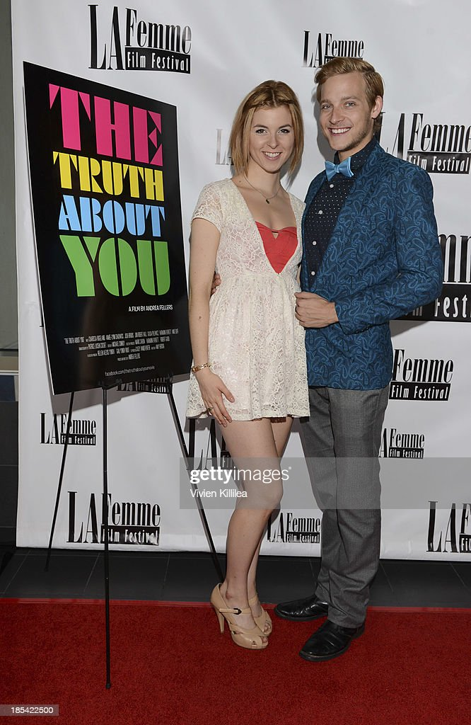 Actress Charissa Hogeland and actor Josh Brodis attend 'The Truth About You' - Los Angeles Premiere at Regal 14 at LA Live Downtown on October 19, 2013 in Los Angeles, California.