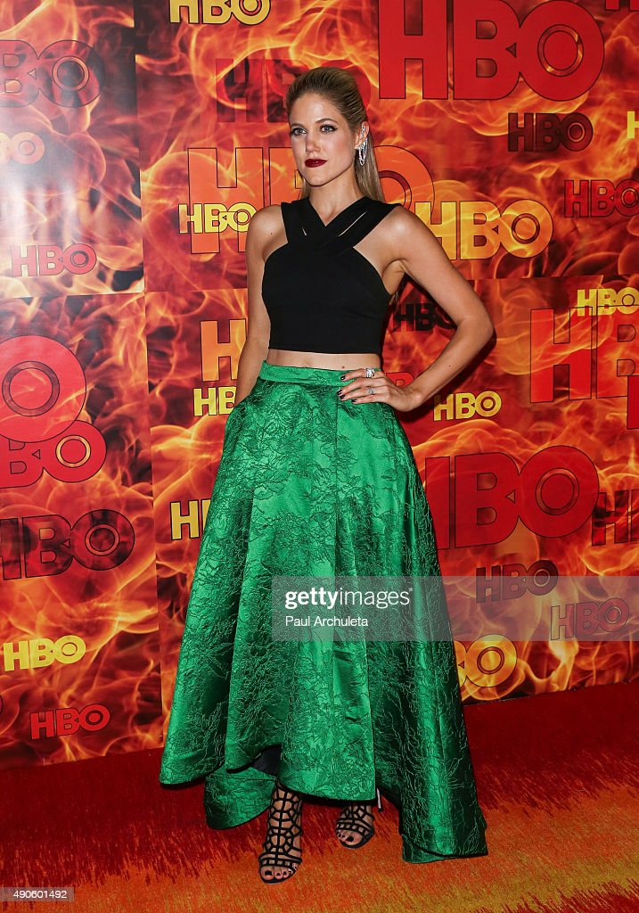 Actress Charity Wakefield attends the HBO's Official 2015 Emmy After Party at The Plaza at the Pacific Design Center on September 20, 2015 in Los Angeles, California.