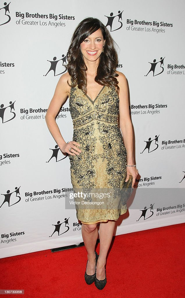 Actress Charlene Amoia arrives for The Big Brothers Big Sisters Of Greater Los Angeles' '2011 Rising Stars Gala' at The Beverly Hilton hotel on October 28, 2011 in Beverly Hills, California.