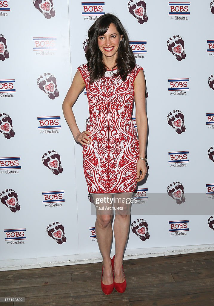 Actress Charlene Amoia attends the Skechers 'Summer Soiree' at SkyBar at the Mondrian Los Angeles on August 21, 2013 in West Hollywood, California.