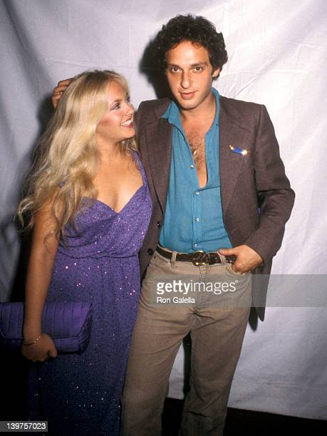Actress Charlene Tilton and Actor Paul Jabara attend the Post Party for Elton John's Concert Performance on September 26 1979 at Victoria Station...