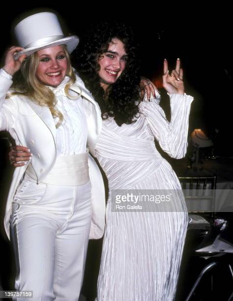 Actress Charlene Tilton and Actress Brooke Shields attend the Seventh Annual People's Choice Awards on March 5 1981 at Desilu TV Studios in Los...