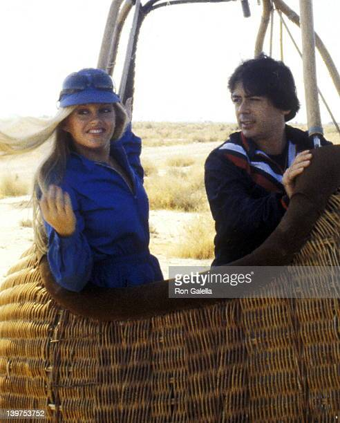 Actress Charlene Tilton and Celebrity Manager Jon Mercedes III on September 22 1979 spent the day ballooning at the Pluma Aircraft Corporation in...