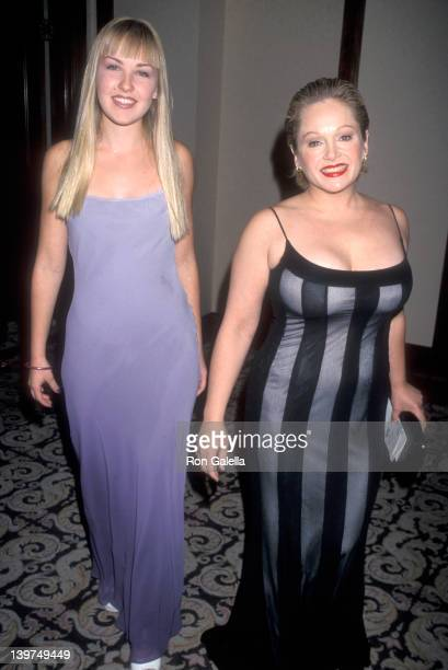 Actress Charlene Tilton and daughter Cherish Lee attend the 43rd Annual Thalians Ball on October 17 1998 at Century Plaza Hotel in Los Angeles...